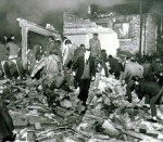 The aftermath of the McGurk's Bar bomb