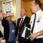 Protesting Baggott's Intransigence