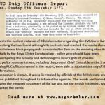 RUC Disinformation