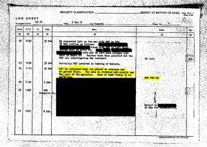 British army bomb expert tells army HQ that McGurk's Bar bomb was planted