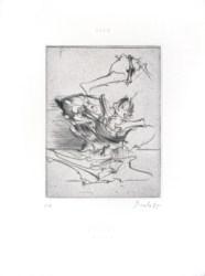 Miodrag Dado works prints etchings drypoints Gallery Michelle Champetier