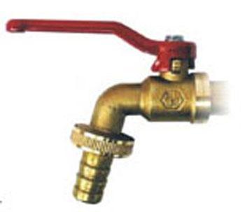 ball faucet hose bibb