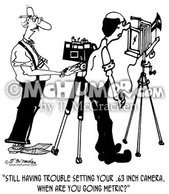 Metric Cartoons