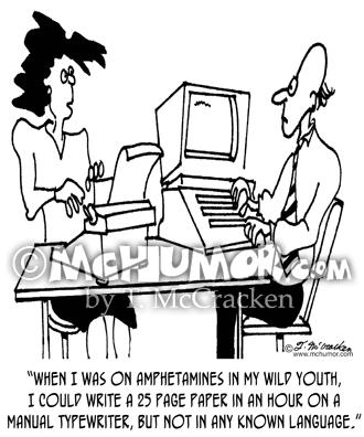 Typewriter Cartoons