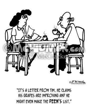 English, Reading & Writing Cartoons Pg 3