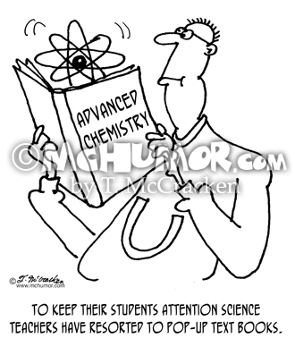 Science Education Cartoons Page 1