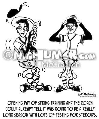 Baseball Cartoons Page 3