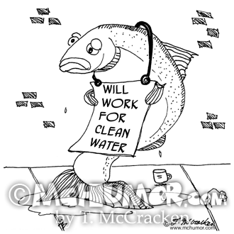 Water Pollution Cartoons Page 1