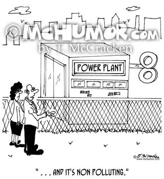 Air Pollution Cartoons