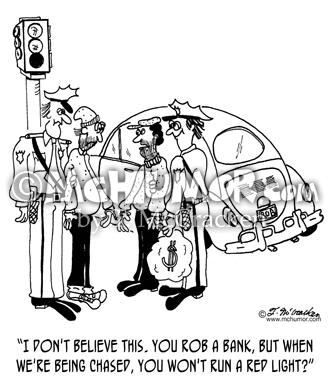 Bank Robber Cartoons