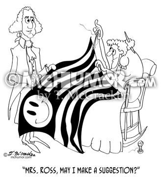 Revolutionary War & Colonial America Cartoons