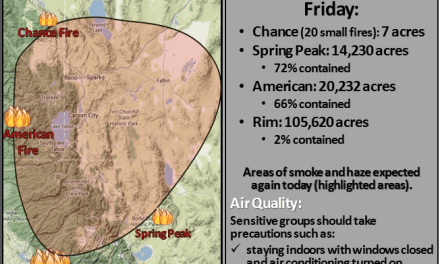 Air quality in Hawthorne deemed unhealthy from Yosemite blaze