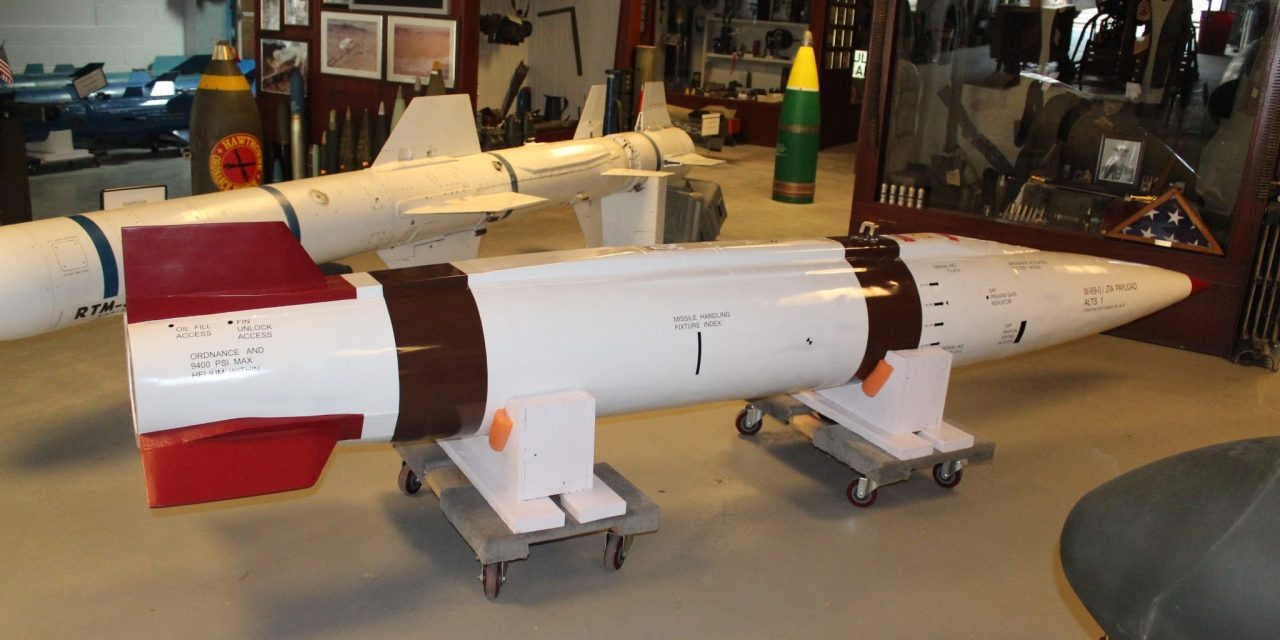New attack missile on display