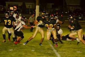 In front of a large enthusiastic home crowd, the Mineral County High Serpents football team took another easy victory on Friday, dominating Excel Christian 52-8.