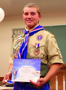 Young men throughout the world set their goal on becoming an Eagle Scout, the highest rank in the Boy Scouts of America.