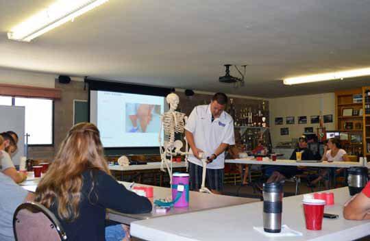 MC Fire Department Hosts Athletic Training Class