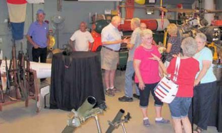 Class of 64 Visits Ordnance Museum