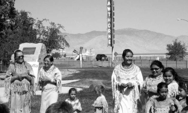 Schurz tribal dancers entertain Elks visitors