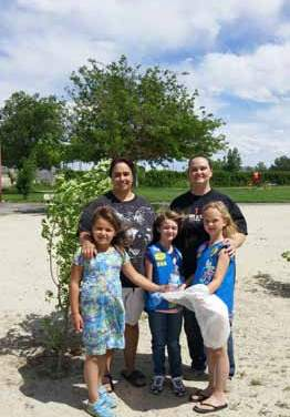 Local Daisies earn patch   by cleaning up Lion's Park