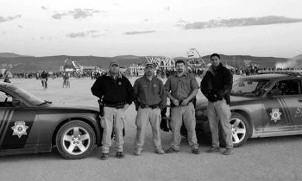 Local officers patrol Burning Man