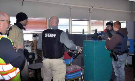 Local officers conduct active shooter training