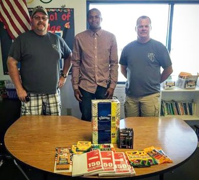Nevada Backroads Crew Gives Back to Hawthorne Elementary Teacher