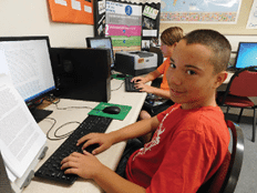 Junior High Students Excel with New Typing Approach
