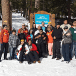 Special Education Students Enjoy Day of Fun In the Snow