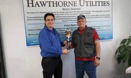 Hawthorne Utilities receives award for excellence in public outreach