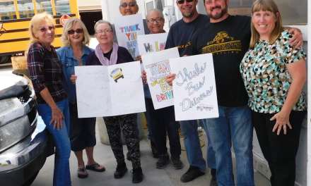 District Bus Drivers Thanked with Appreciation Lunch