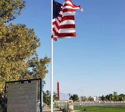 Big Flag at Half-Staff After Passing of Senator John Mccain
