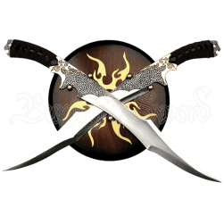 Elf Warrior Dual Swords - MC-FM-411 by Medieval Swords, Functional ...