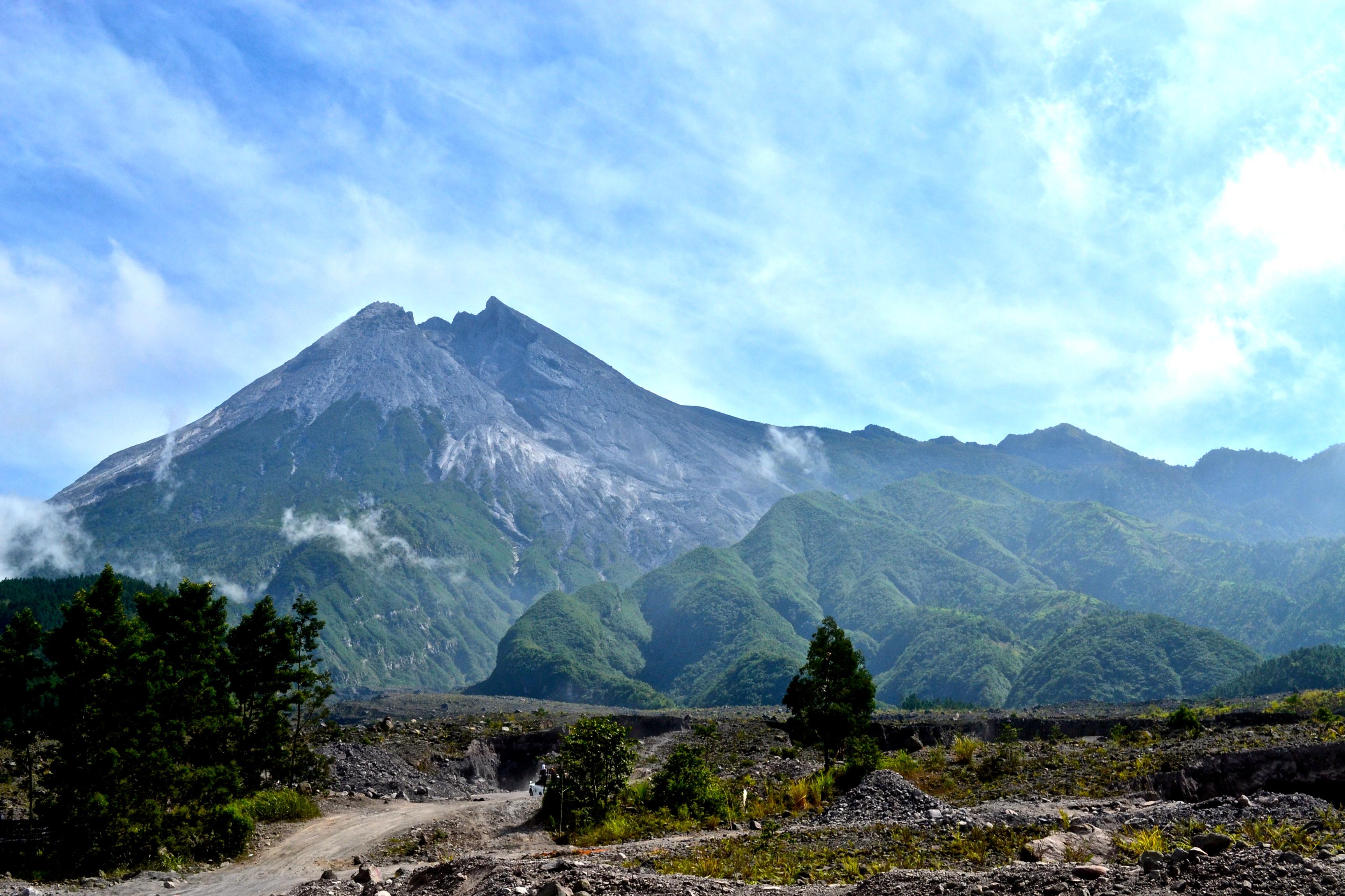 Mount Merapi  Gorgeous Globe