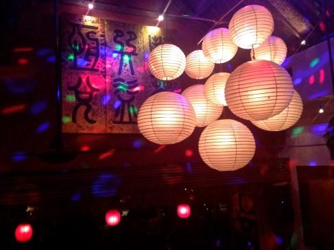 Laughing Buddha Bar by night.