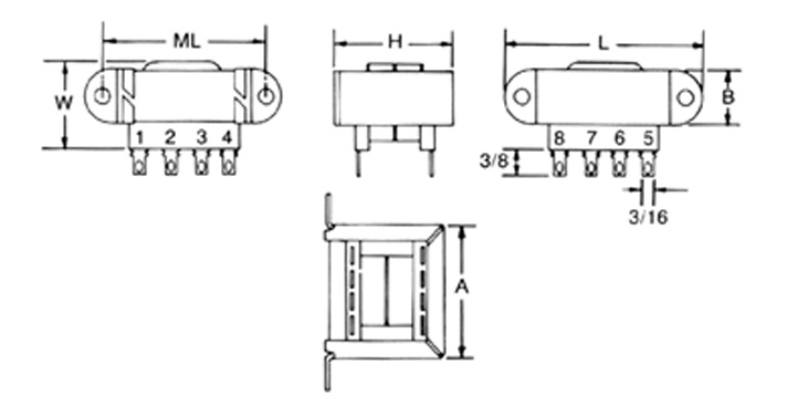 transformers wiring diagrams thermostat wire diagram mci 4-06/4-07 series - transformer corporation