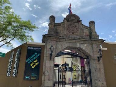 El Centro Nacional de la Cultura alberga al MADC. Foto MADC.
