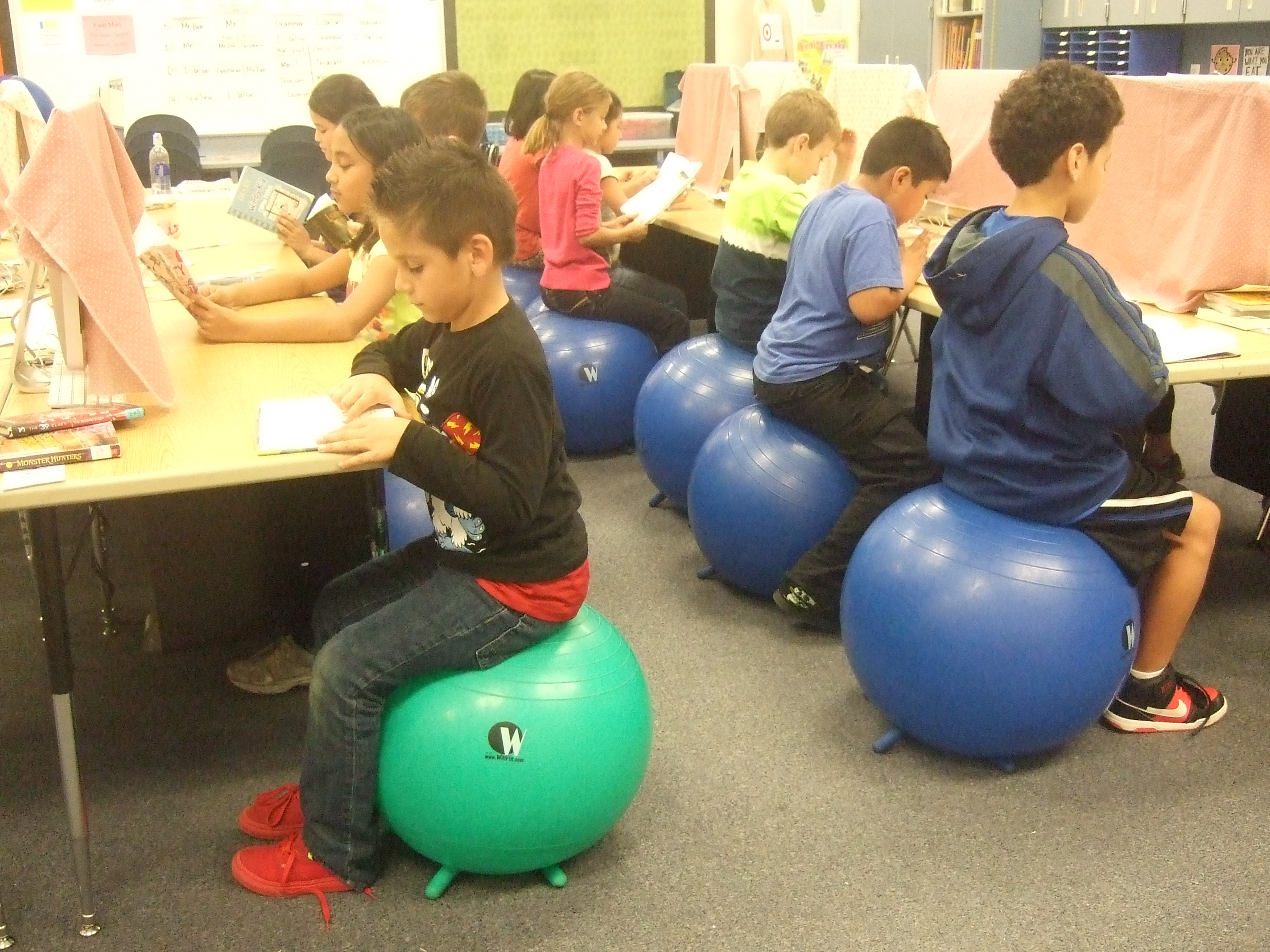 yoga ball chair exercises carter high replacement parts bounce wiggle and learn  no greater call
