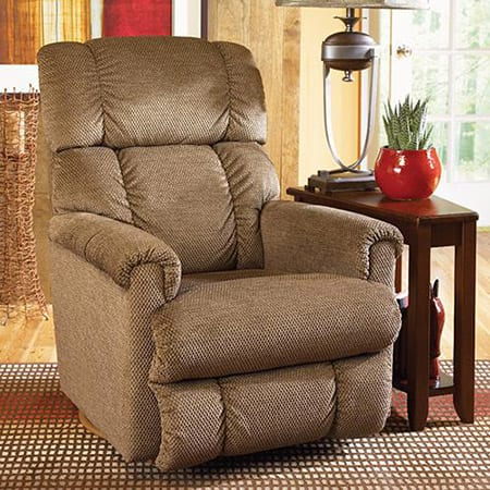 chairs that swivel and recline flip sofa sleeper chair la-z-boy pinnacle - mckays furniture