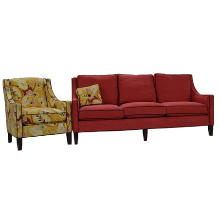 wesley sofa burlap sectional hall and chair set mckays furniture sale