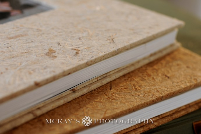 Sustainable wedding albums