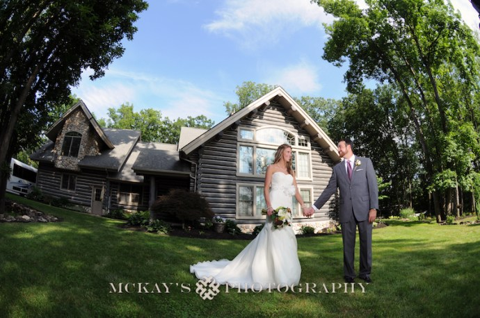 Ashley & Garon Muller's wedding in Honeoye NY by Heather McKay