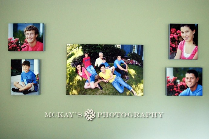 digital files vs. canvas prints and wall art for family pictures in Rochester