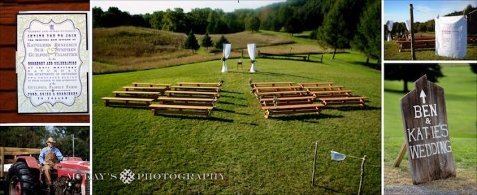 Modern Eco-friendly Rustic Farm Wedding Album by McKay's Photography