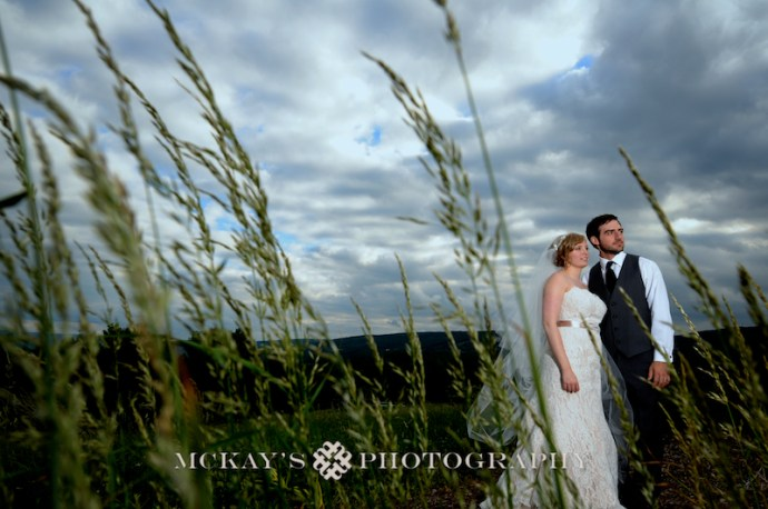Bristol Harbour resort dramatic wedding photo by Rochester wedding photographer