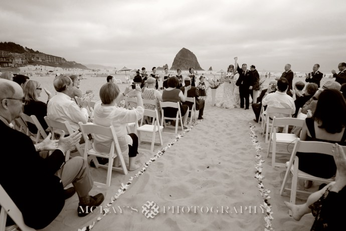 Cannon Beach Wedding Photos inspired by Goonies Movie