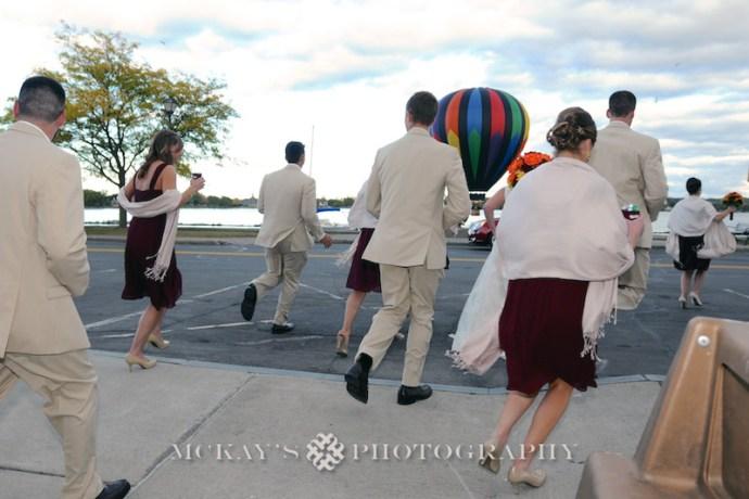 Hot Air Balloons at weddings in NY