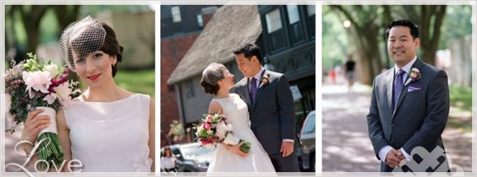 Fine Art Boston Film Wedding Photography at Paul Revere House