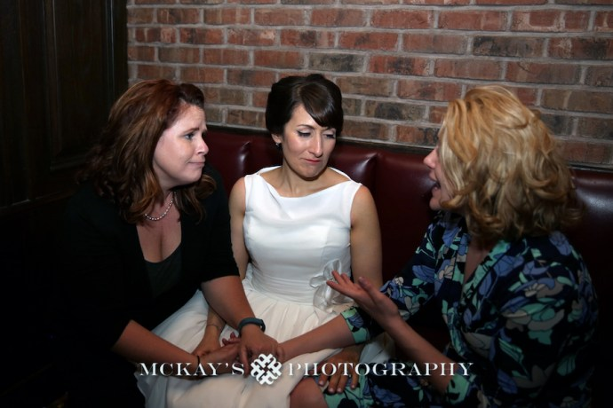 Heather McKay with Bride and friend athe The Saloon Davis Square