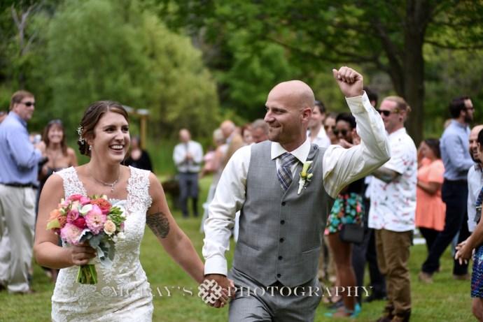 Backyard wedding photographer Rochester Heather McKay's Photography
