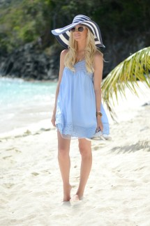 Powder Blue Sundress